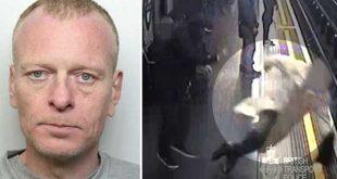 بالفيديو: السجن مدى الحياة لرجل دفع ورمى مسناً على مسار مترو أنفاق لندن
