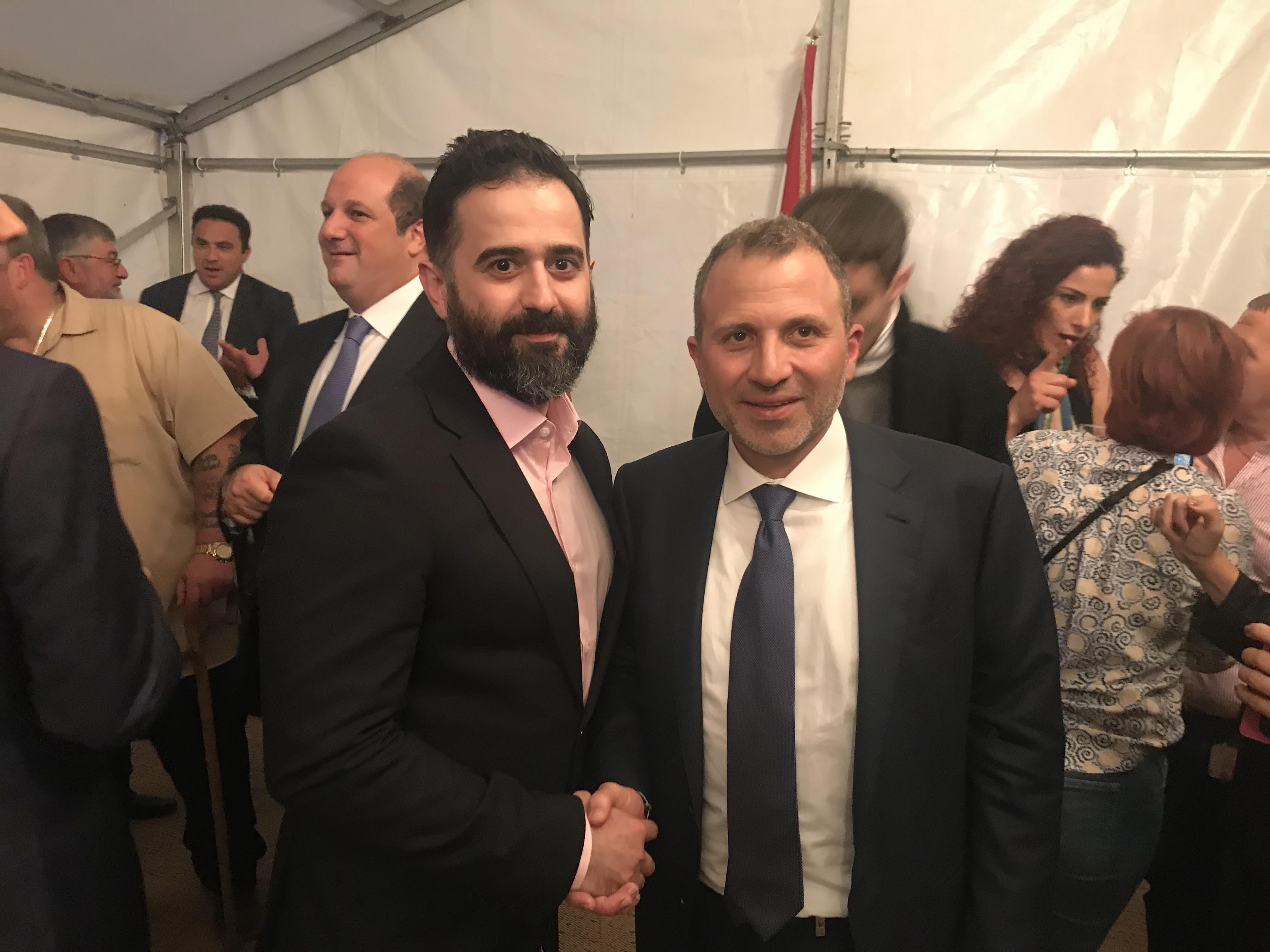 بالصور: السفارة اللبنانية في لندن تقيم حفل استقبال على شرف وزير الخارجية جبران باسيل