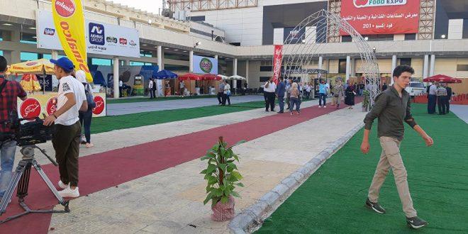 انطلاق فعاليات معرض فود إكسبو في العاصمة السورية بمشاركة عربية