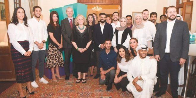 """""""ديليفرو"""" تحتفل بنجاحها في الكويت في مقر السفارة البريطانية"""