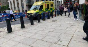 رجل يهدد بإحراق وتفجير مبنى في لندن