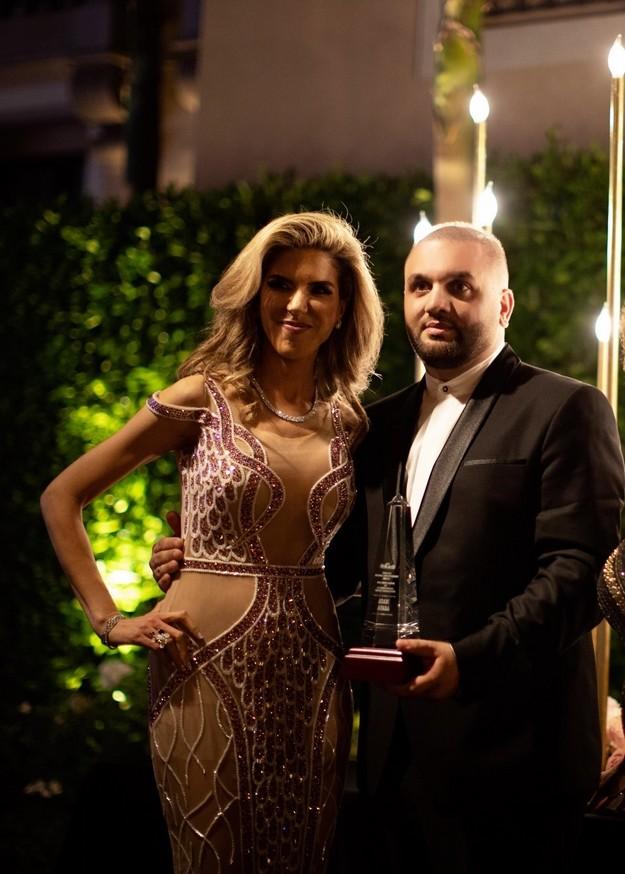 مجلة Enigma تكرم المصمم اللبناني العالمي آدم عفارة في كاليفورنيا