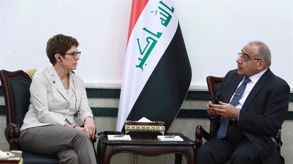 رغبة عراقية للتعاون مع الشركات الألمانية الكبرى في ملف إعادة الإعمار