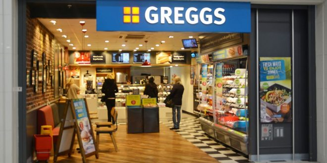 جريجز تفتتح 100 متجر جديد في المملكة المتحدة هذا العام