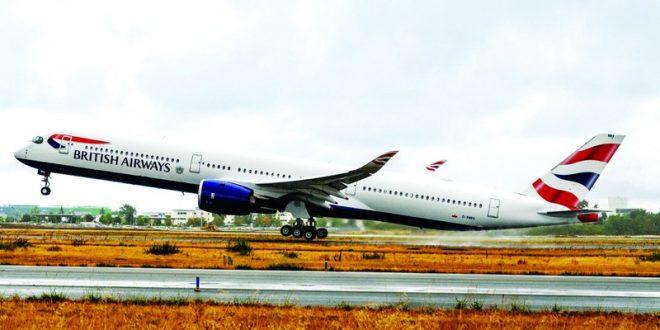 الخطوط الجوية البريطانية تختار دبي لتشغيل أولى طائراتها إيرباص إيه 350