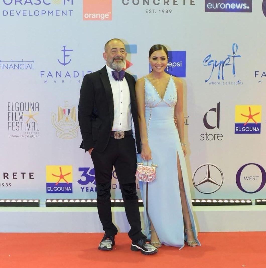 بالصور: شاهد أبرز ثنائيات المشاهير خلال افتتاح مهرجان الجونة السينمائي