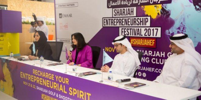 انطلاق مهرجان الشارقة لريادة الأعمال بشراكة مع مايندفالي التعليمية في نوفمبر