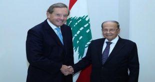 المبعوث التجاري البريطاني للبنان يناقش قضايا التجارة والاقتصاد بين البلدين خلال زيارته