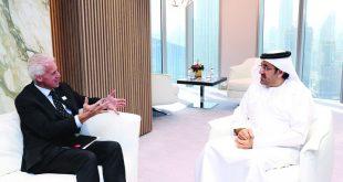 وزارة الشؤون الاقتصادية الإماراتية تبحث تعزيز التعاون التجاري والاقتصادي مع بريطانيا