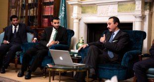 سفير السعودية لدى لندن يجتمع بأعضاء نادي الإعلاميين السعوديين في بريطانيا