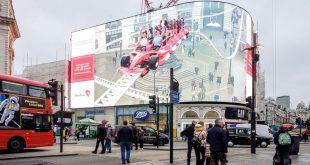 أبوظبي تحطم رقماً قياسياً في موسوعة غينيس عبر أضواء بيكاديلي في لندن