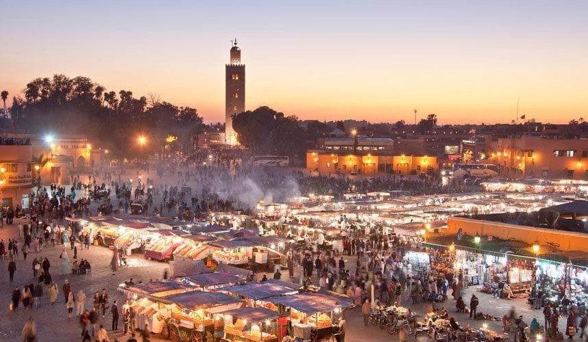 مراكش أكثر مدن المغرب جذباً للسياح بـ3 ملايين سائح في عام 2019
