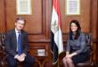 السفير البريطاني في مصر يبحث كيفية تعزيز التعاون مع وزيرة التعاون الدولي المصرية