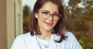 شام الذهبي تعلن من خلال الصور عن ارتباطها بطبيب مصري