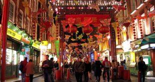 الحي الصيني في لندن خالٍ من زواره.. والسبب فيروس كورونا