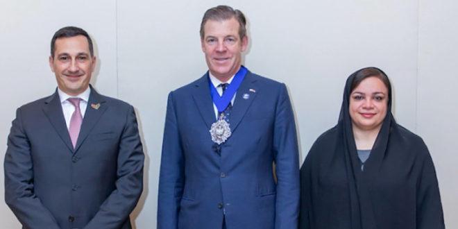 الاتحاد لائتمان الصادرات الإماراتية تبحث تعزيز العلاقات مع عمدة الحي المالي في لندن
