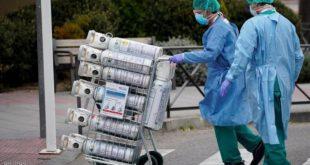 الأكسجين يشارف على النفاد في أحد مشافي لندن بسبب الأعداد الكبيرة لمصابي كورونا