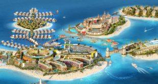 """استمرار العمل في مشروع جزر """"قلب أوروبا"""" في دبي ليتم افتتاحه في نهاية العام"""