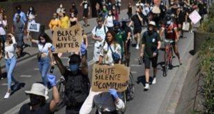 شرطة لندن تعتقل 23 شخصاً في احتجاجات بسبب مقتل جورج فلويد