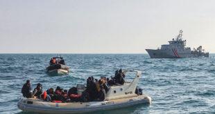 مشاركة أكثر من ألف شخص في عملية عبور غير شرعية من فرنسا الى بريطانيا