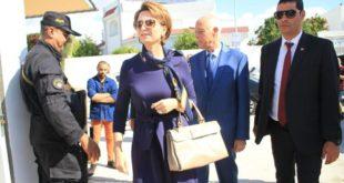 صورة لزوجة الرئيس التونسي في أول ظهور لها تشغل وسائل الاعلام