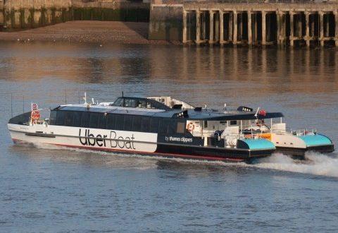 """بالتعاون مع """"اوبر""""..اطلاق خدمة النقل النهري في لندن"""