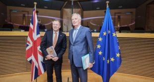 استئناف الجولة السابعة من محادثات ما بعد بريكست في بروكسل