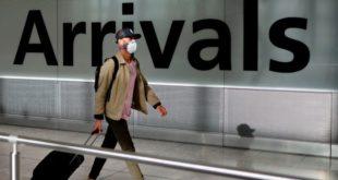 الحكومة البريطانية تستبدل الحجر الصحي للوافدين اليها بإجراءات جديدة