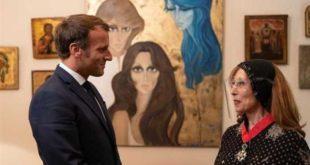 قبل أن يلتقي أي مسؤول! ماكرون يزور فيروز ويمنحها أعلى وسام فرنسي