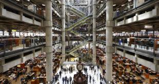 """""""للويدز"""" للتأمين: المتوقع تحقيق أقساط جديدة بالسوق البريطاني بقيمة تصل إلى نحو 15 مليار دولار."""