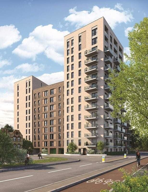 خطة لندن للإيجار الحي توفر  مساكن معقولة لذوي الدخل المحدود في غرب لندن.