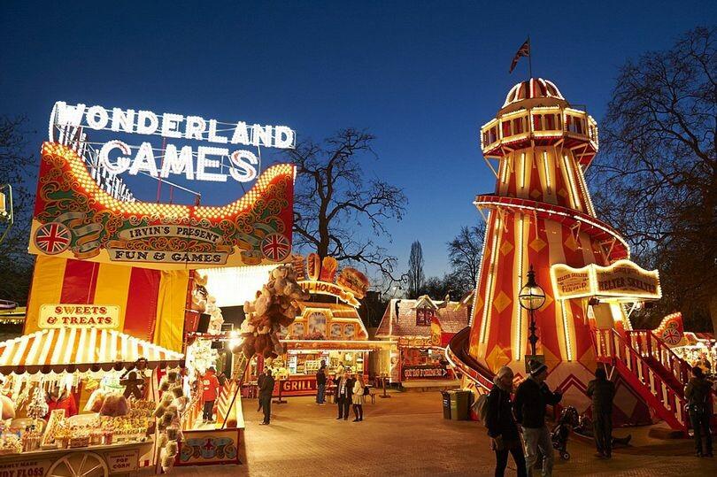 افتتاح مدينة العجائب الشتوية المذهلة في لندن هذا الأسبوع
