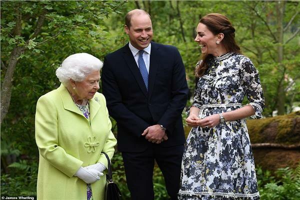 بالصور.. كيت ميدلتون هل تسعى لأن تصبح الملكة إليزابيث الصغيرة ؟