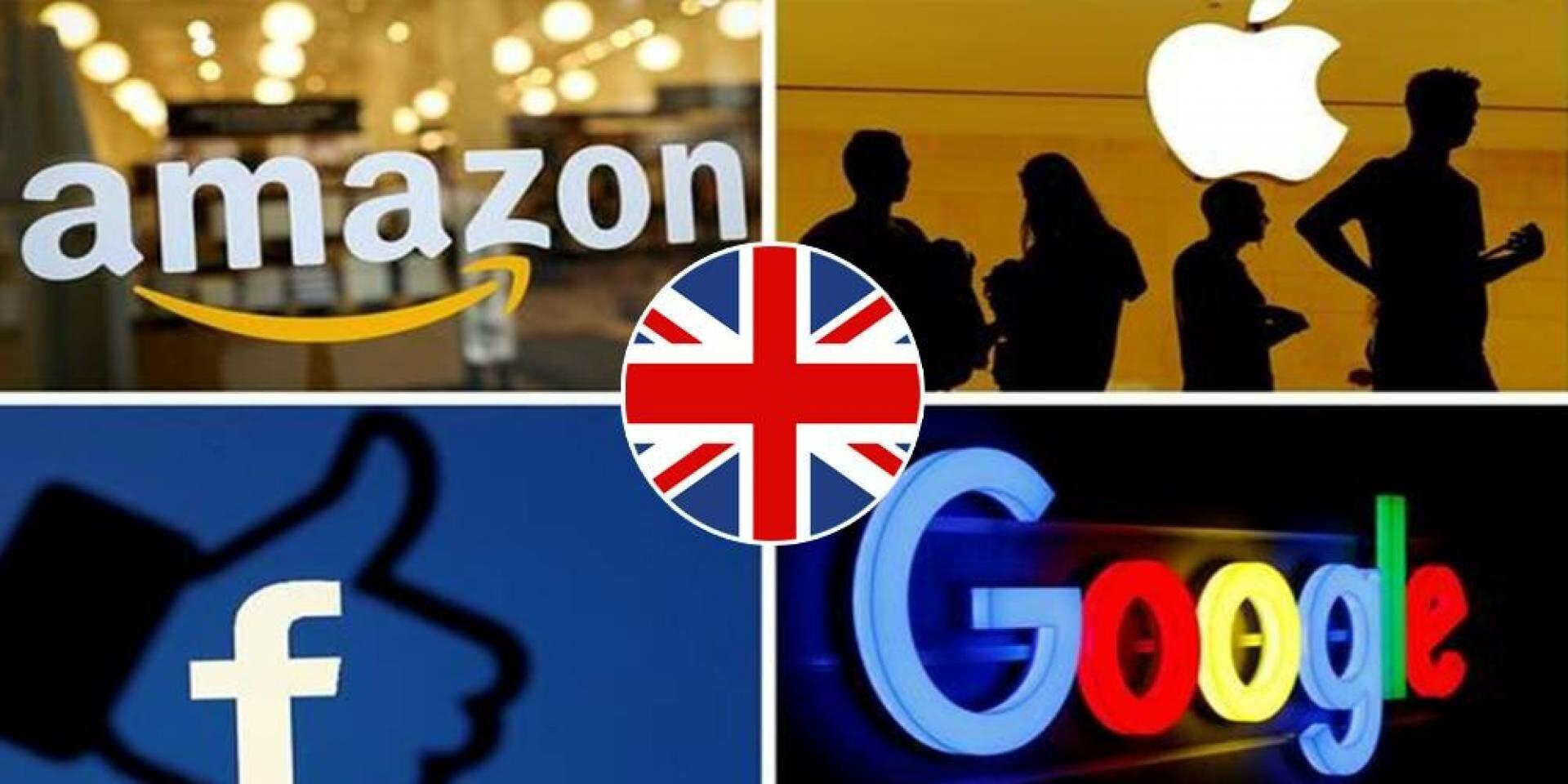 غرامات بالمليارات لشركات التكنولوجيا الكبرى في بريطانيا