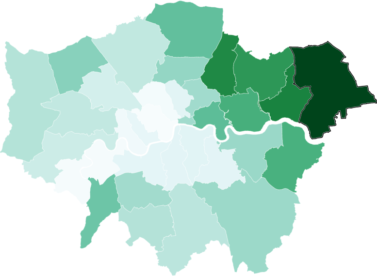 لندن وكوفيد: ماهي المنطقة ذات نسبة الإصابات الأعلى والتي ستدفع بالعاصمة إلى مستوى الإغلاق الثالث؟
