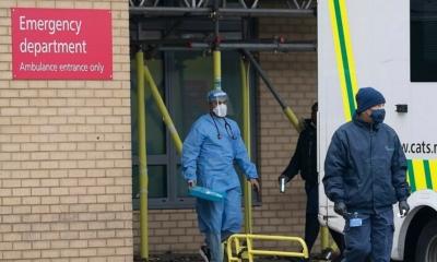 المستشفيات في لندن تستنفذ كامل طاقتها ، وحالات الإصابة في إرتفاع