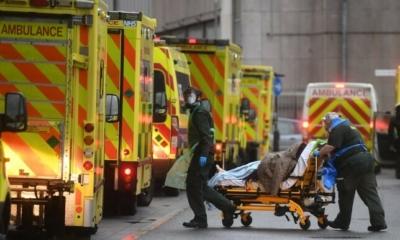 نقص حاد في عدد أسرة المستشفيات في لندن، وتزايد عدد وفيات كورونا