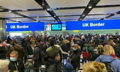 مناقشات متفرقة حول مستقبل السفر من وإلى المملكة المتحدة، والآراء مختلفة