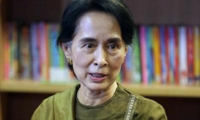 """انقلاب ميانمار: بوريس جونسون يدين """"السجن غير القانوني"""" لأونغ سان سو كي"""