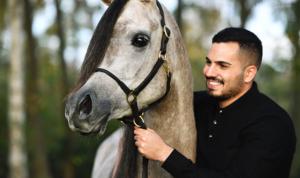 محمد سليمان ..ملهم الشباب و بطل العالم الذهبي للخيول العربية الأصيلة
