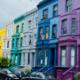 شوارع قوس قزح في لندن..مزيج رائع كألوان الحلويات!