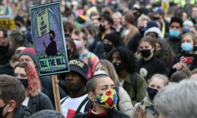 اعتقال أكثر من 100 شخص في لندن في احتجاجات Kill the Bill !
