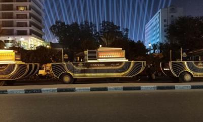 القاهرة تتزين في موكب مهيب لنقل المومياوات الملكية إلى موقعها الجديد