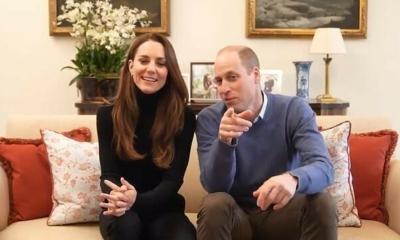 الأمير ويليام وكيت ميدلتون على يوتيوب ! وهذا رابط قناتهما