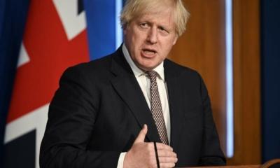 جونسون: الاقتصاد البريطاني سريعاً على طريق التعافي