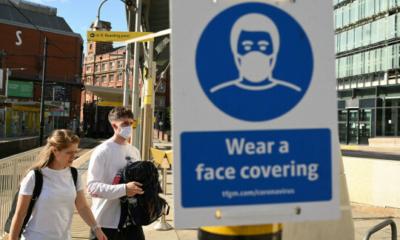بريطانيا.. أقنعة الوجه قد تكون إلزامية هذا الشتاء