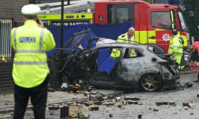 حادث مروع في لندن.. سيارة تصطدم بمنزل وتقتل 3 أشخاص