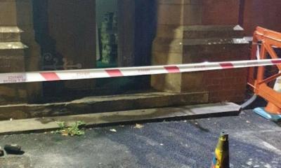 الشرطة البريطانية تفتح تحقيقا في حريق بمسجد في مانشستر