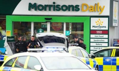 الشرطة البريطانية تضبط مسلحا احتجز رهائن داخل محطة بنزين في Bristol